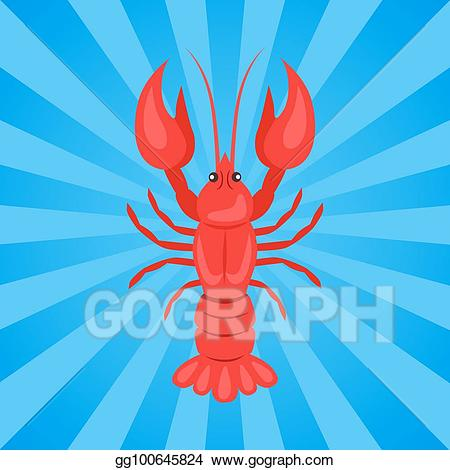 Eps vector or crawdads. Crawfish clipart yabbie