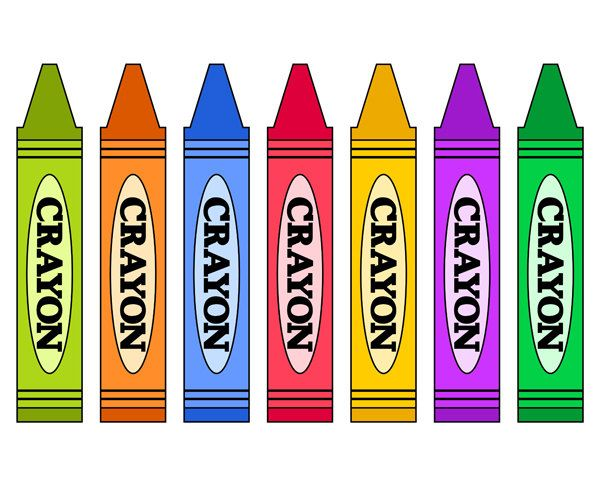 Crayons pinterest . Crayon clipart
