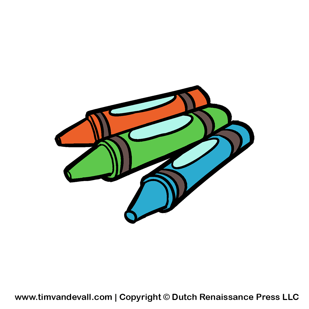 Crayons clipart 2 crayon. Of cartoon gclipart com