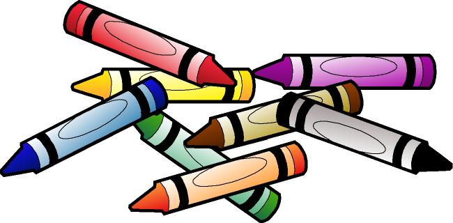 Crayons clipart. Crayon clip art black