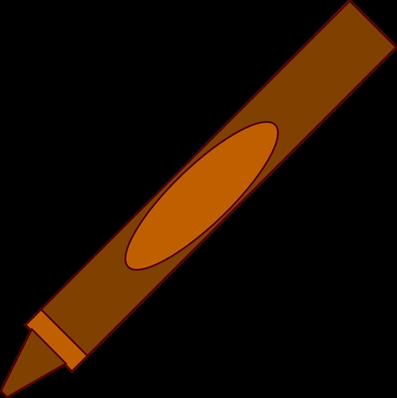 Crayons clipart art room. Pencil crayon office tools