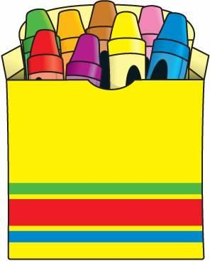 Line drawing classroom management. Markers clipart cute crayon box