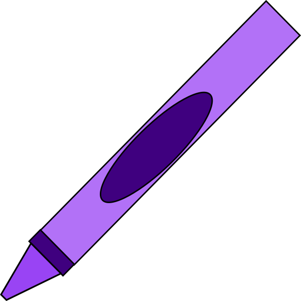 Crayons violet frames illustrations. Crayon clipart caddy