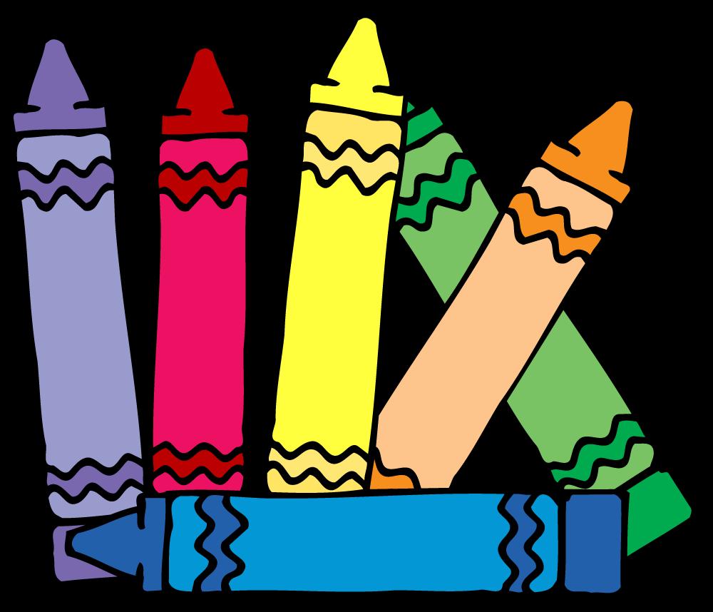 Crayon clipart caddy. Crayons kindergarten frames illustrations