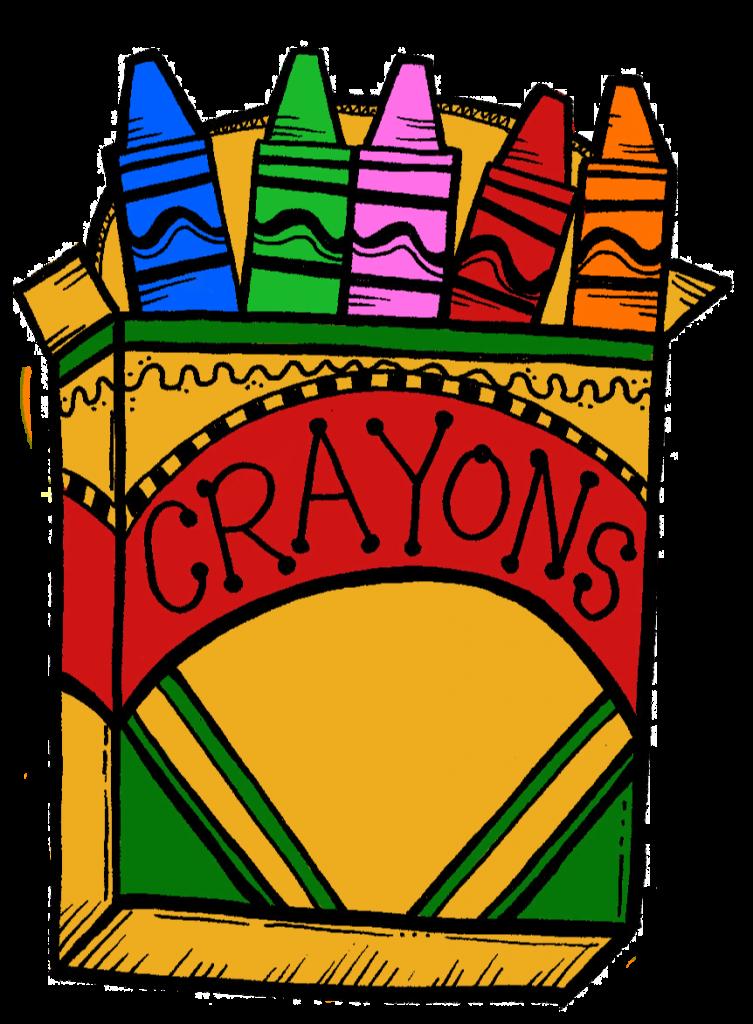 Clipartix . Crayons clipart crayon paper