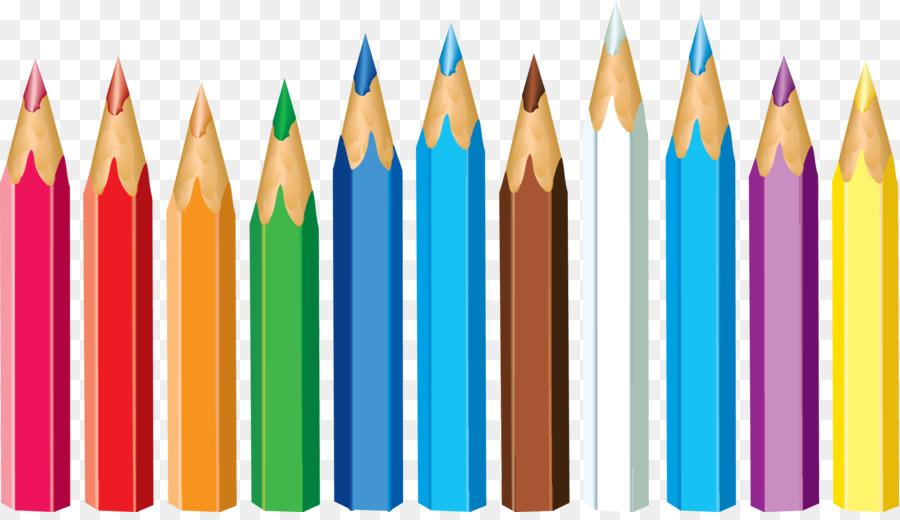 Crayon clipart colored pencil. School supplies cartoon png