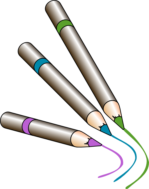 Crayons clipart svg. Clip art panda free