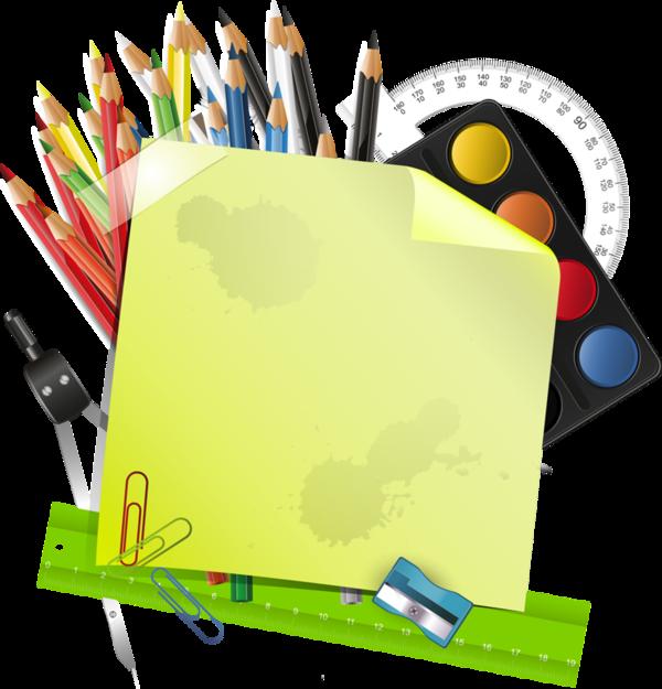 Crayons clipart label. De couleurs articles d