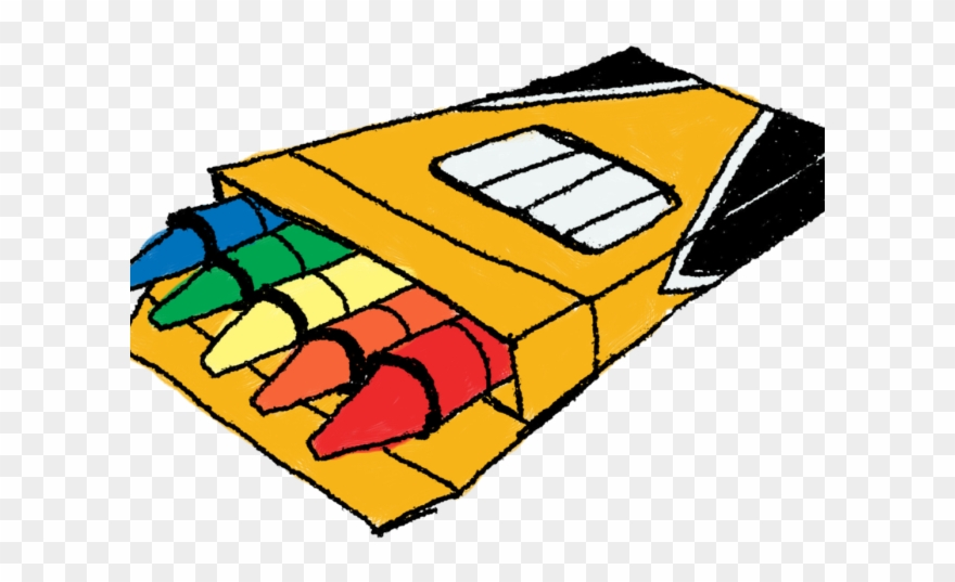Crayon clipart marker. Thing crayons and markers