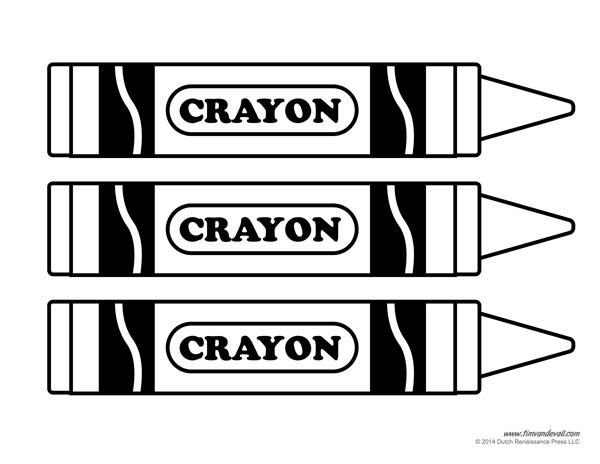 Crayon clipart name. Tag template invitation templates