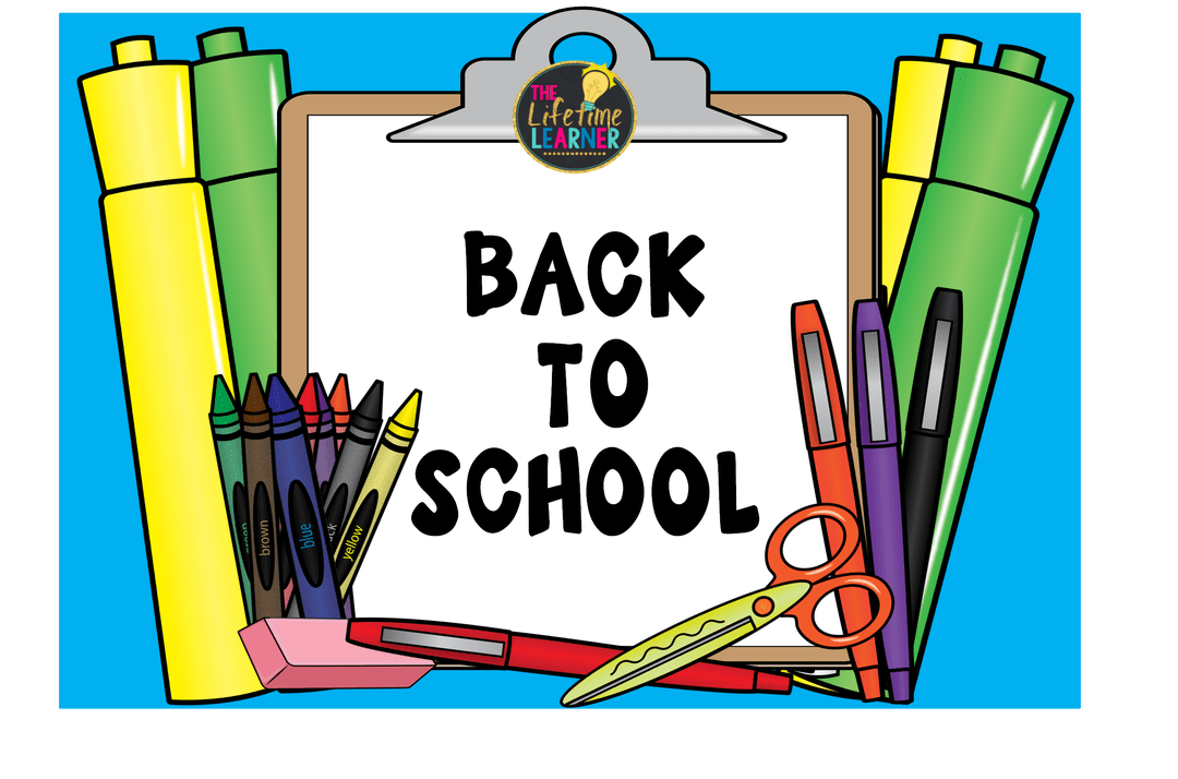 Crayon clipart packet. Back to school the
