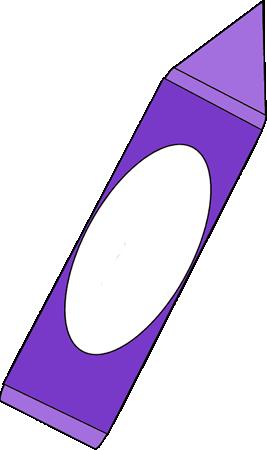 Crayon clipart purple crayon. Big clip art image
