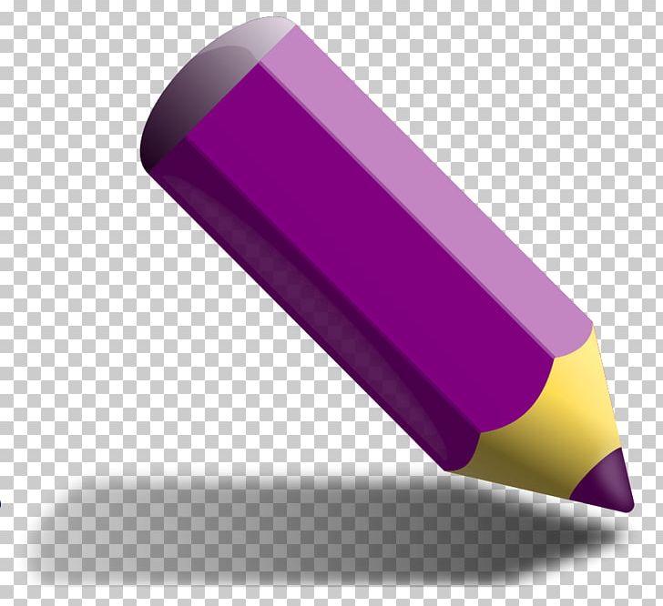 Colored pencil png ballpoint. Crayon clipart purple pen