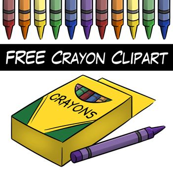 Crayon solid object x. Crayons clipart art room
