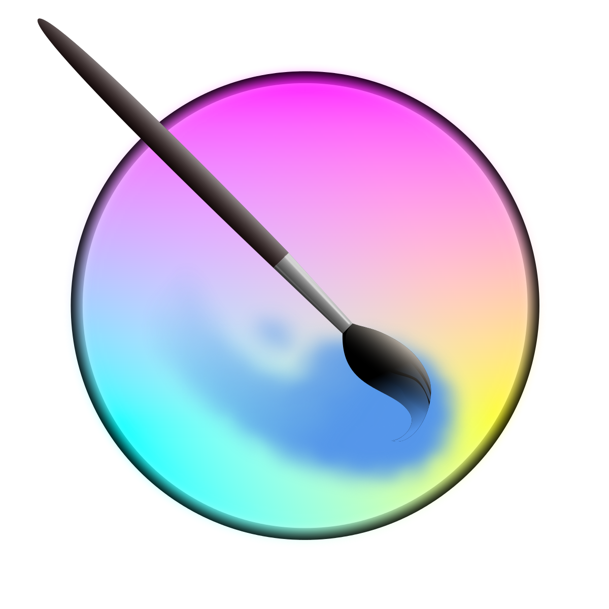 Crayons clipart solid object. Krita wikipedia