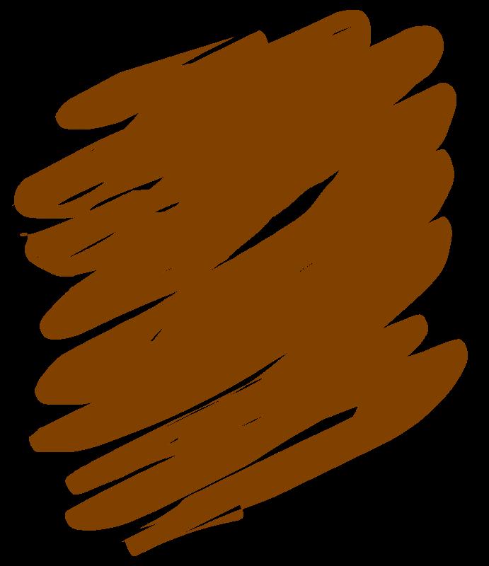 Crayon clipart tan. Brown medium image png