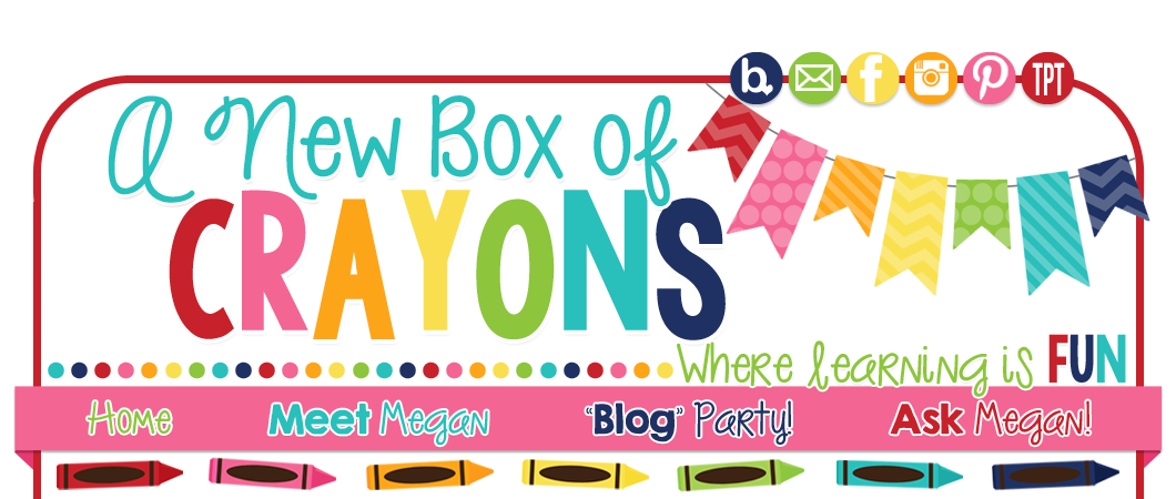 Crayons clipart template. A new box of