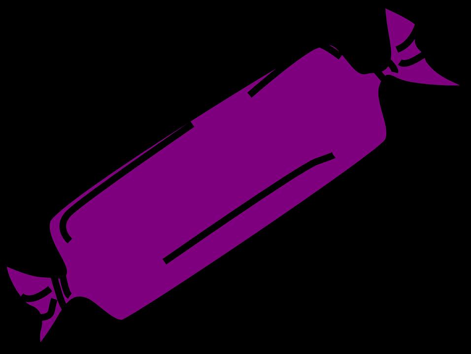 Candy bar shop of. Crayon clipart violet
