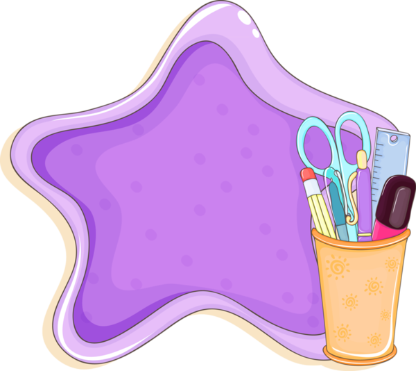 Best with awesome. Crayon clipart violet