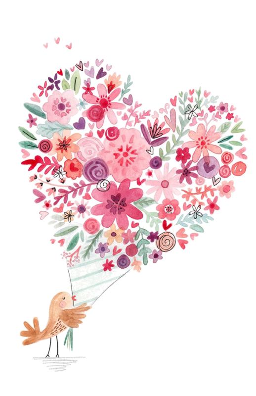 Plate clipart watercolor. Coeur tube png corazones