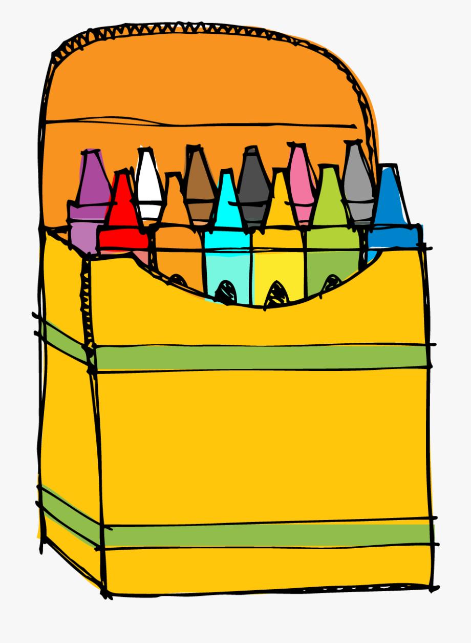 Crayon clipart cryons. Box png free