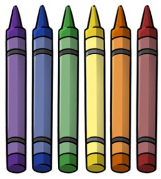 Crayons clipart. Resources minus clip art