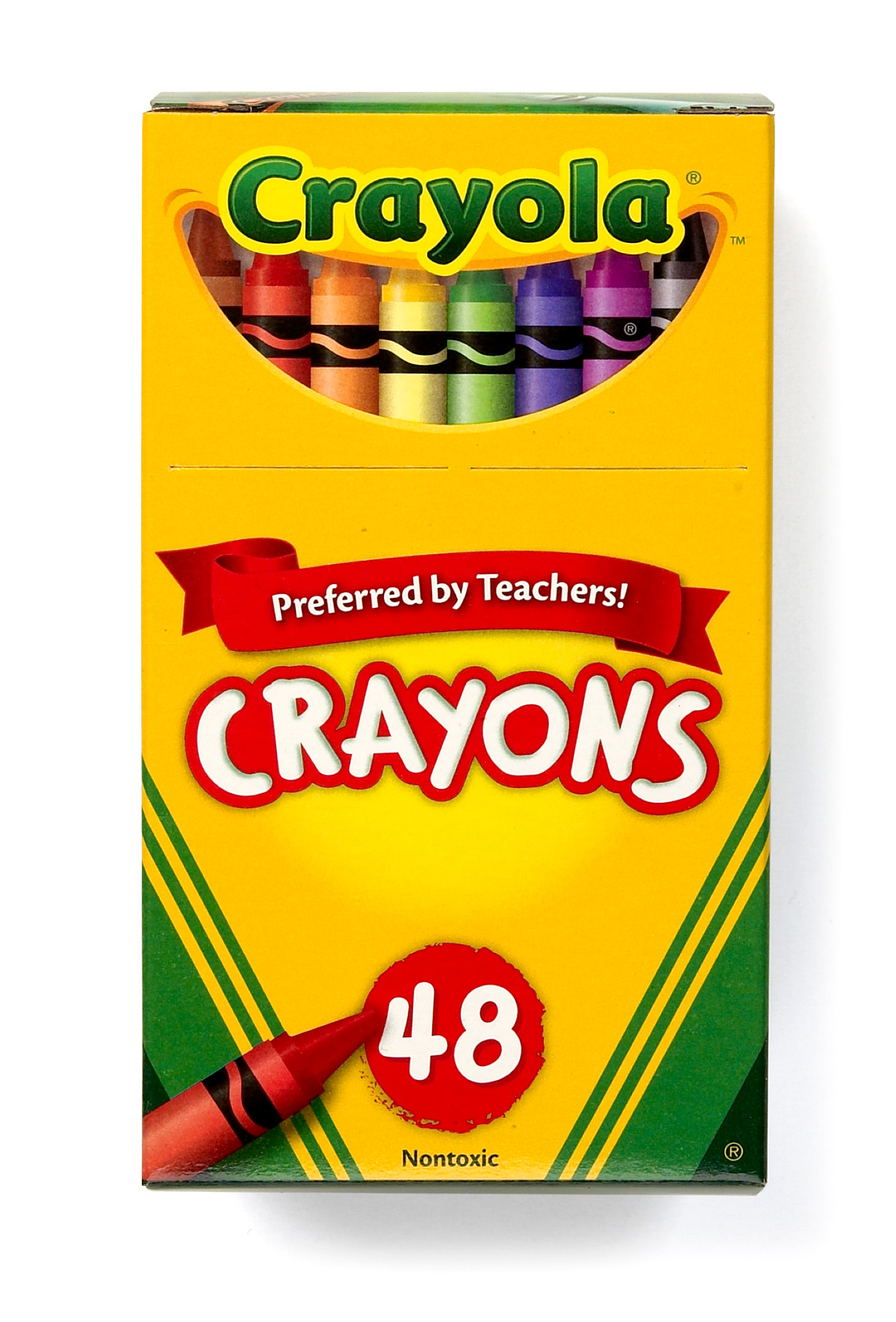Crayons clipart. Box of black and