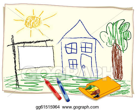 Crayons clipart crayon paper. Blank real estate sign