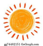 Crayons clipart sun. Crayon clip art royalty