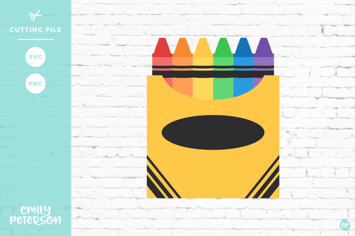 Crayons clipart svg. Box of dxf eps