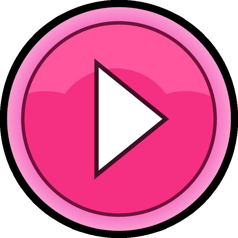 Button play png pixels. Motivation clipart arrow