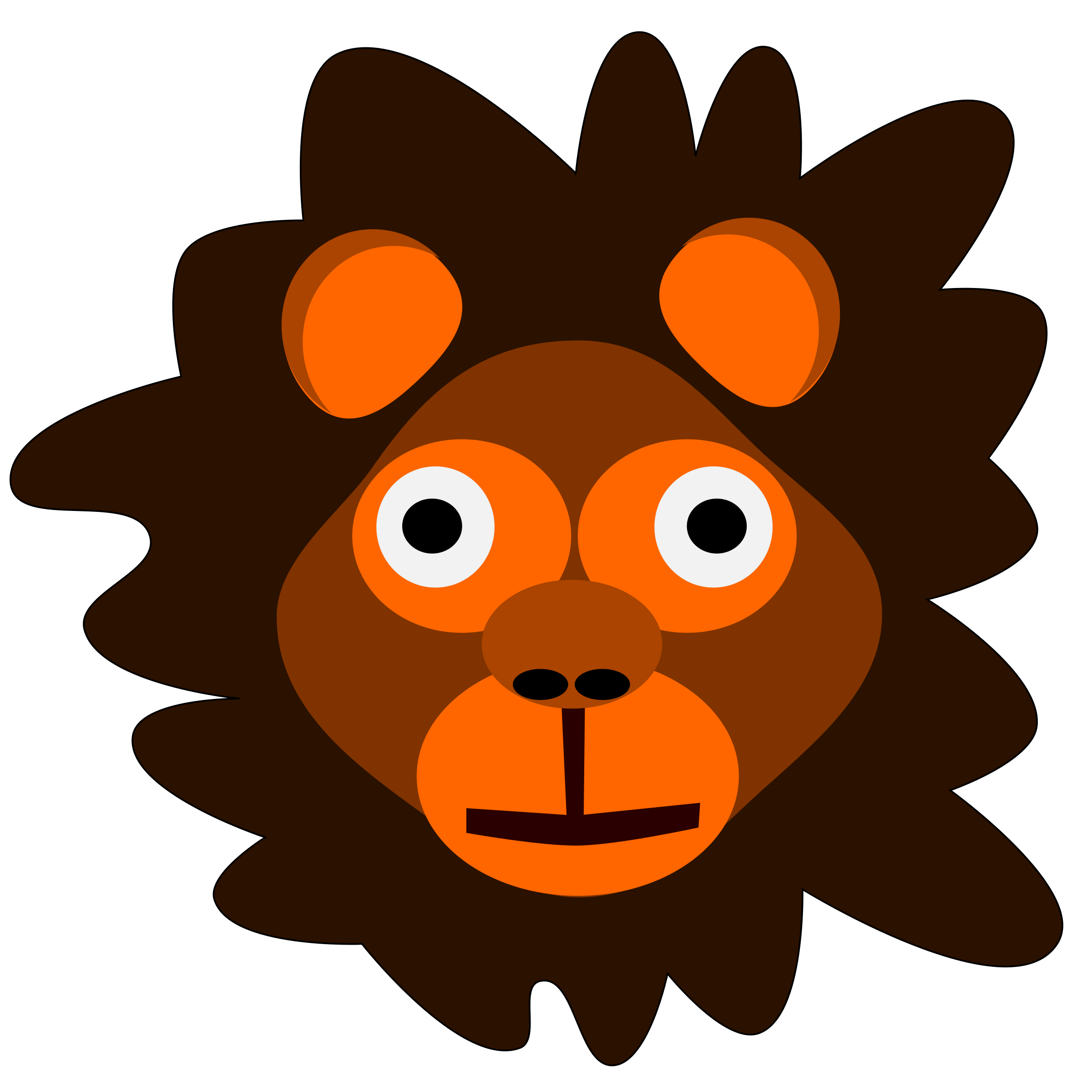 Lion icons png free. Crazy clipart crazy lady