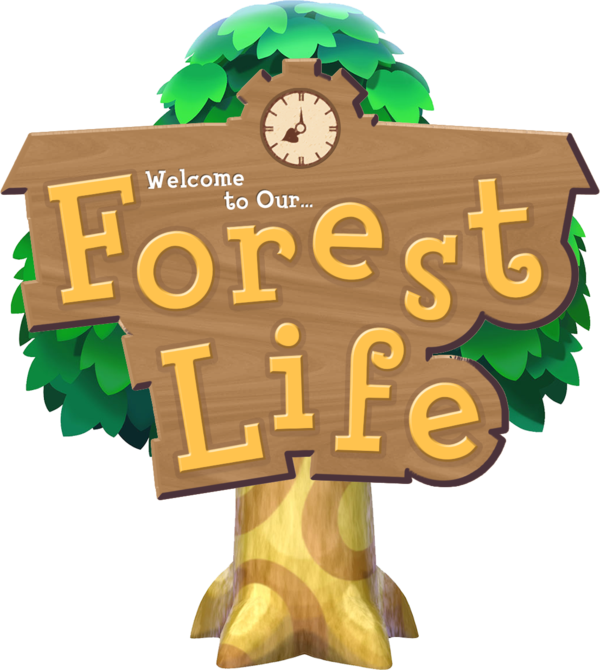 Our forest life logo. Crazy clipart cuckoo