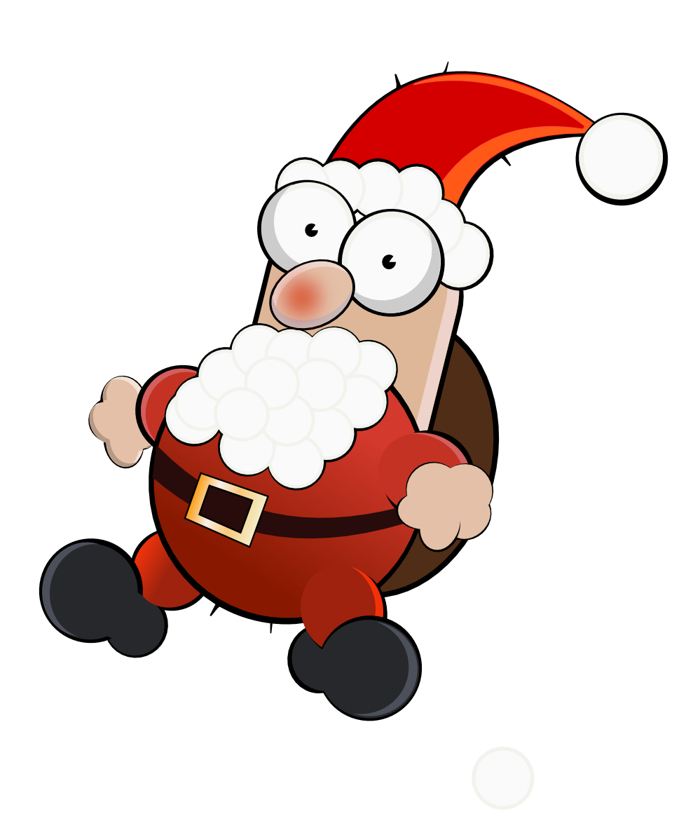 collection of crazy. Mad clipart santa