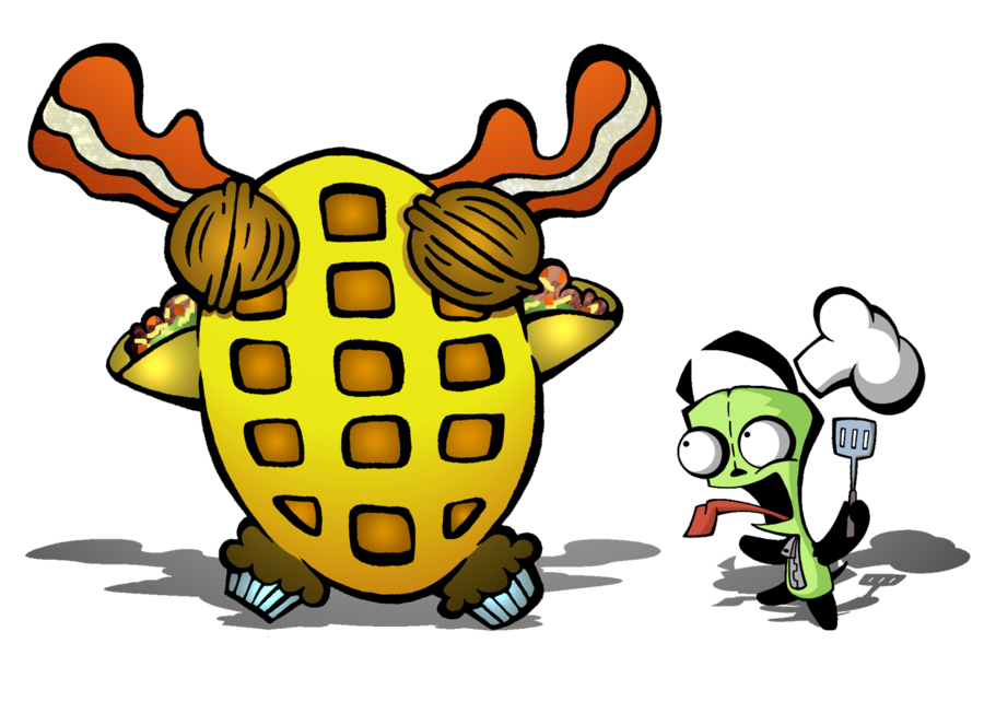 Gir the crazy chef. Tree clipart lanzone