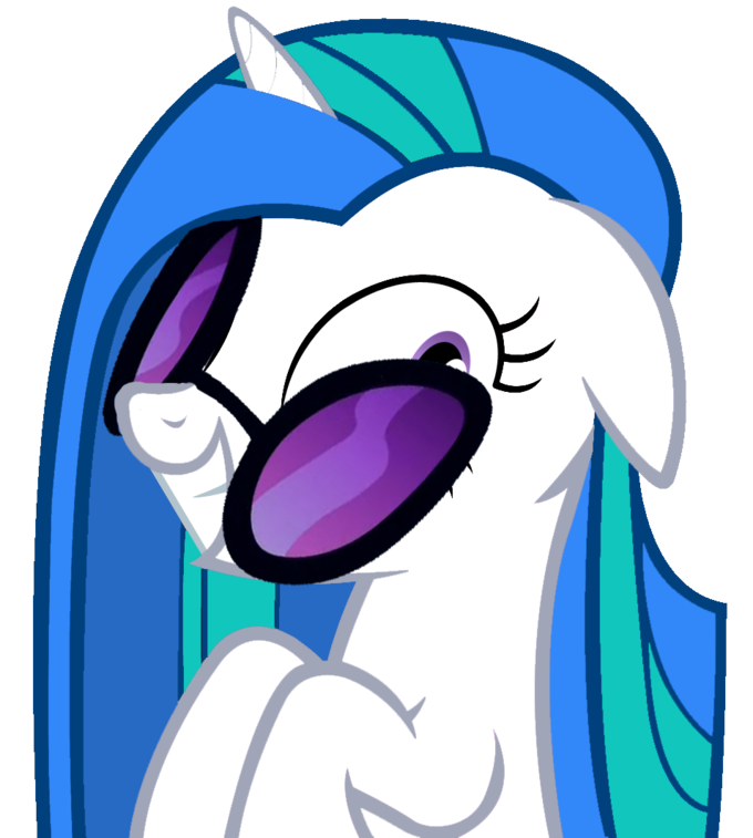 If vinyl scratch went. Purple clipart forget me not