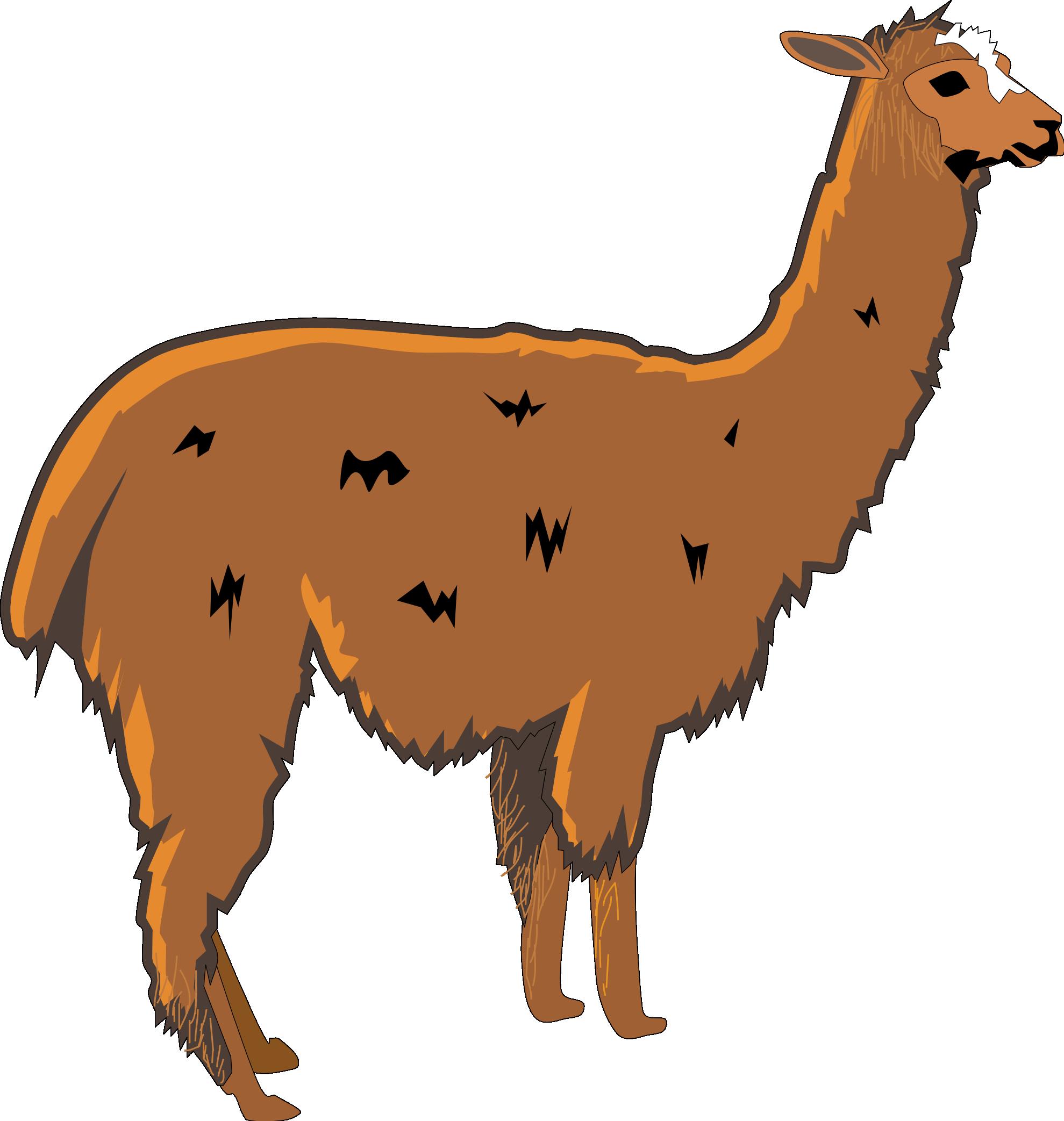 Llama printable