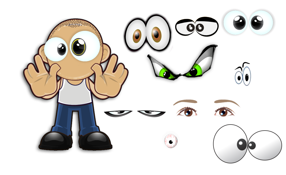 Eye Clipart Character Eye Character Transparent Free For Download On Webstockreview 2021