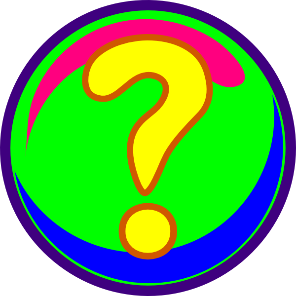 Free clipart question. Animated mark for powerpoint