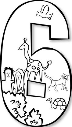 Number 6 clipart creation number. Day clip art google