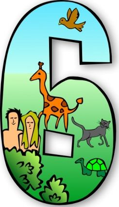 Clip art day number. Creation clipart