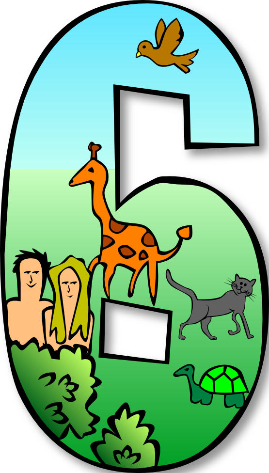 Creation clipart 6th day creation.  google px png