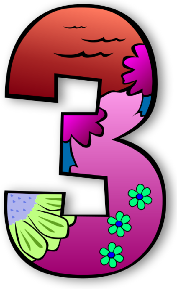 Days of at getdrawings. Number 6 clipart creation number