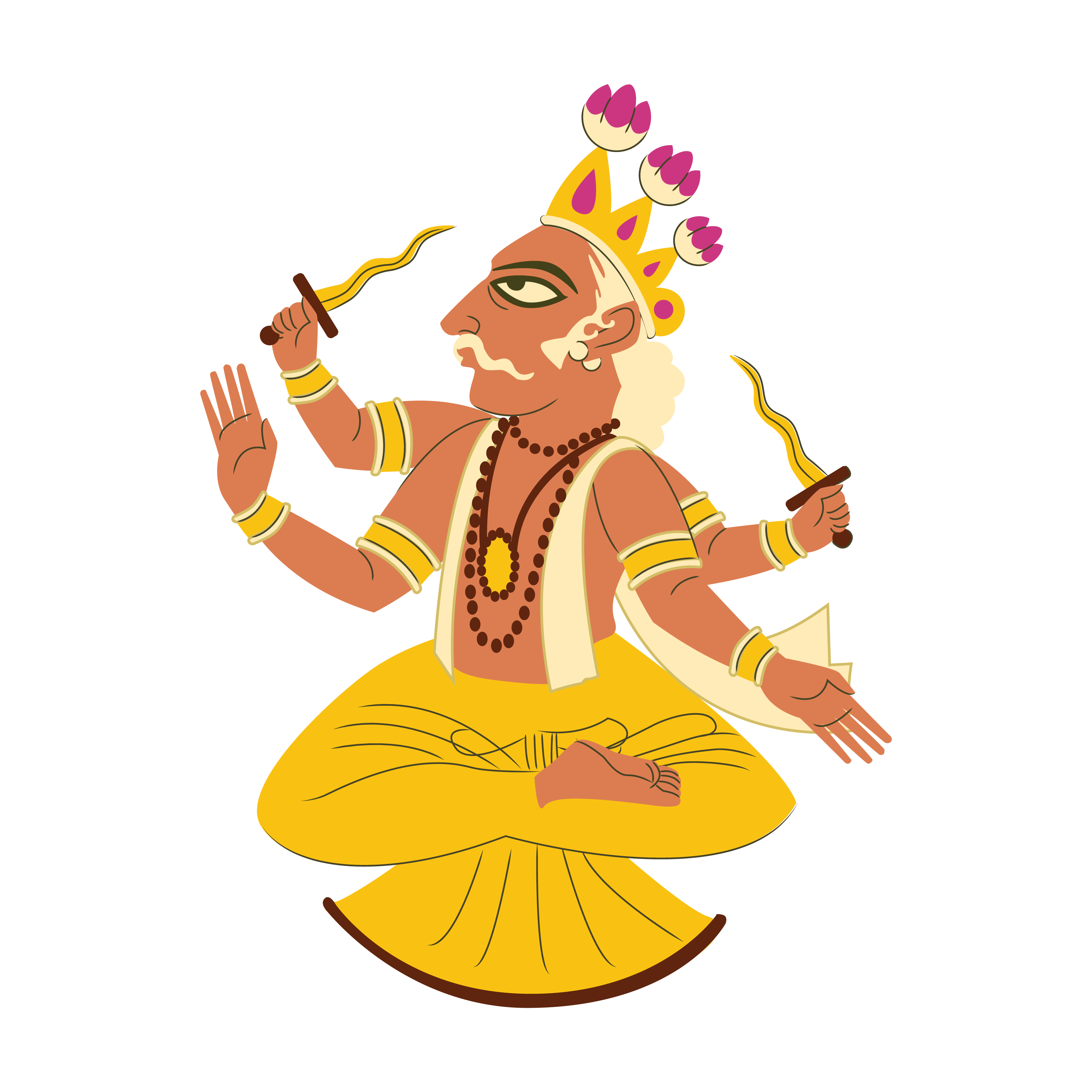 Which hindu god most. Heaven clipart deity