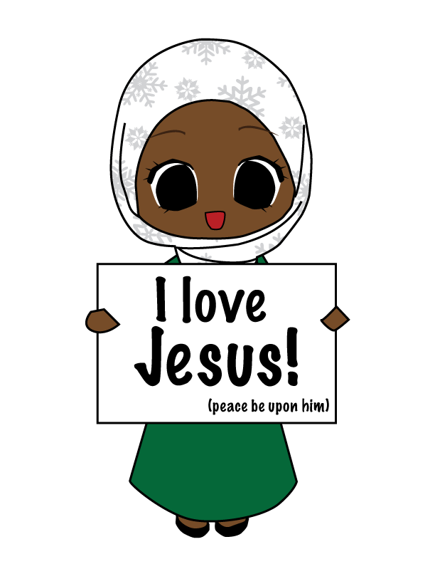 Muslims love jesus by. Missions clipart cultural diffusion