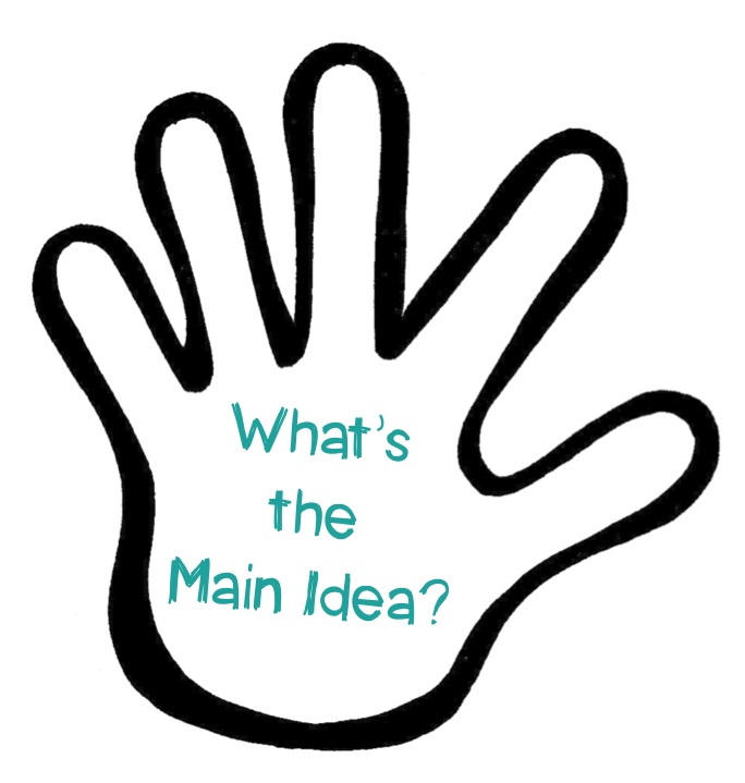 Main theme . Creation clipart be in your hand
