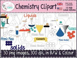 Creation clipart colour. Chemistry black and white