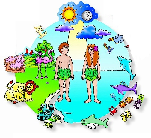 Atheist bible study the. Creation clipart creation story