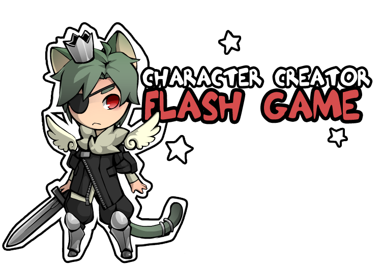 Creation clipart creator god. Character flash game by