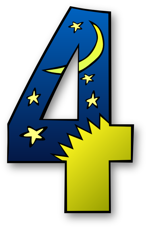 Days numbers i royalty. Creation clipart day 5